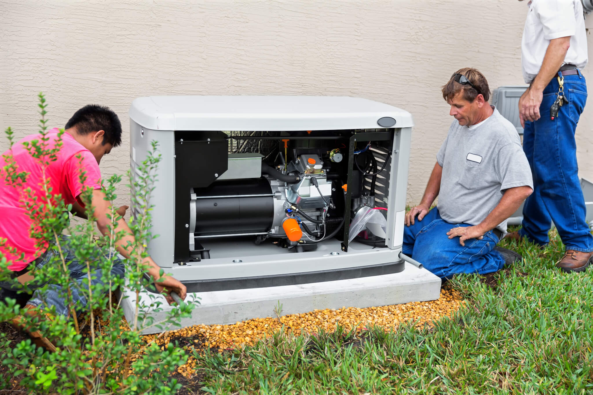 Generators nj - Installing an Whole House Emergency Generator