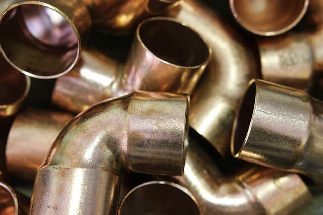 brazing copper pipe