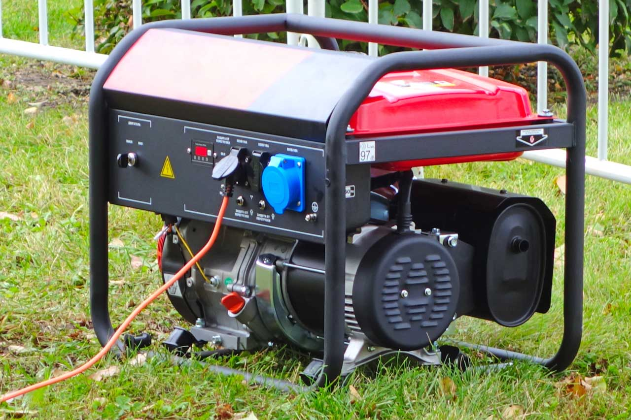 Hanover Supply, how far can a standby generator be from the house